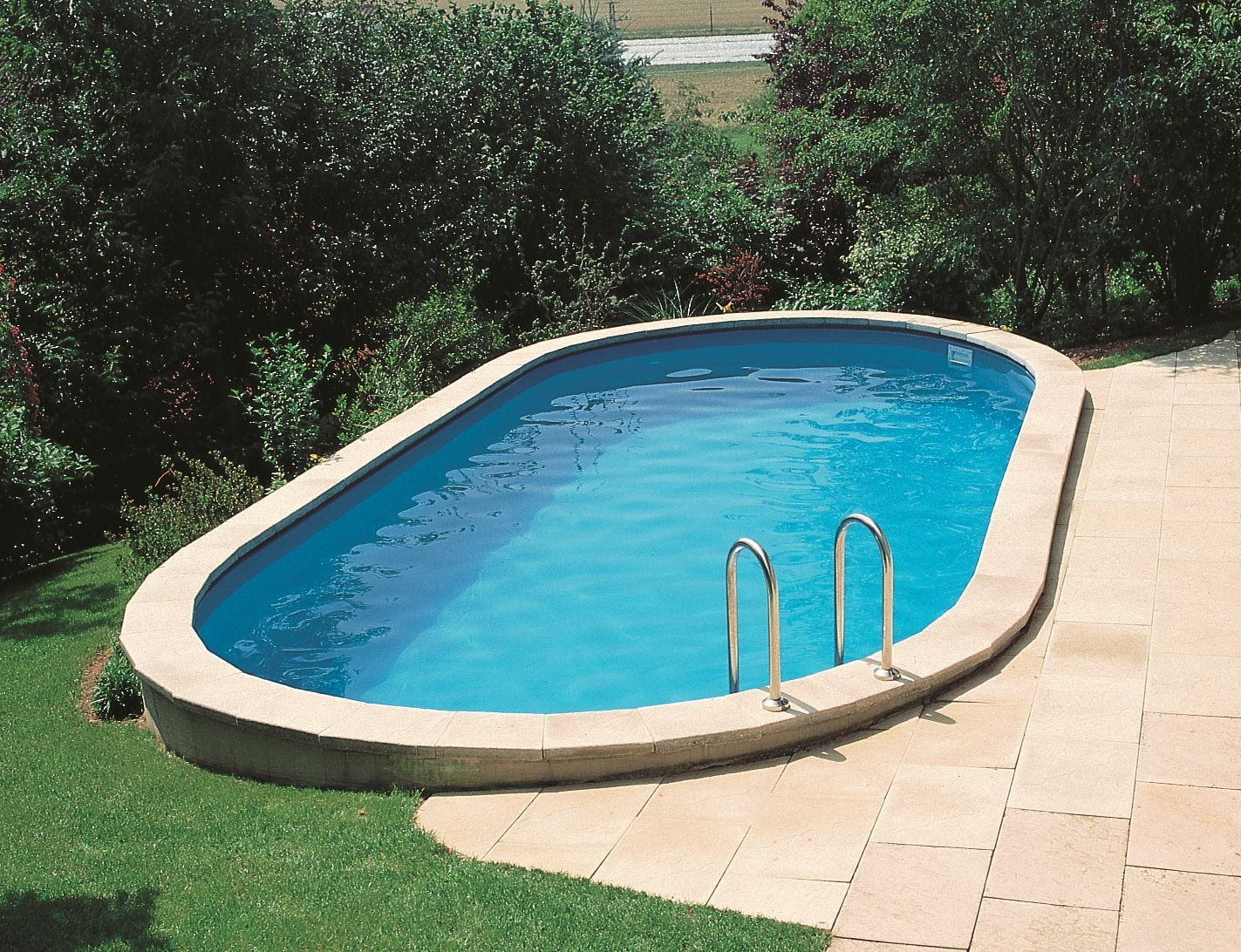 Piscinas enterradas en kit for Piscines demontables